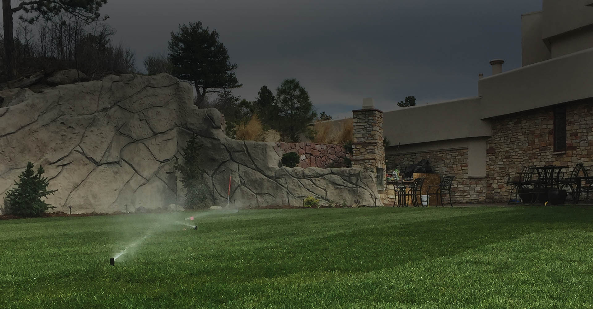 Sprinkler System Front Yard Signature Landscape Inc Services landscaping services Denver Littleton Co