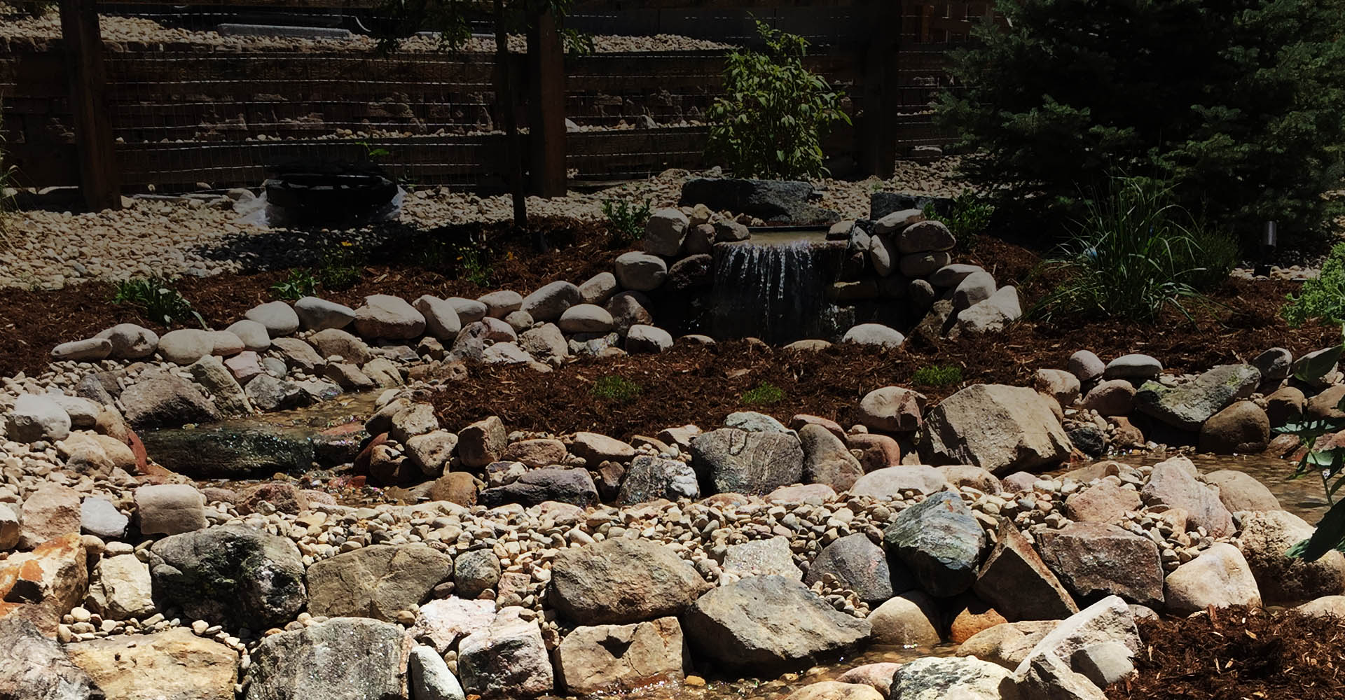 Water Features Signature Landscape Inc landscaping services Denver Littleton Co