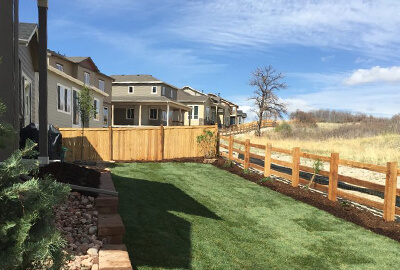 design & installation landscaping services Denver Littleton Co