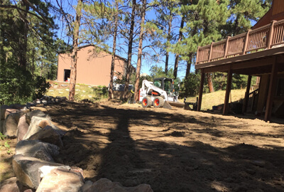 grading landscaping services Denver Littleton Co