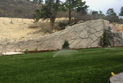 Signature Landscape irrigation sprinkler system landscaping services Denver Littleton Co