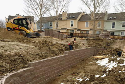 Signature Landscape retaining walls services